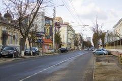Sedina street Royalty Free Stock Image
