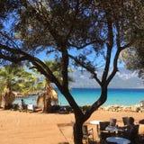 Sedir beach in Turkey Stock Photography
