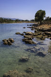 Sedir-Insel, Gökova, die Türkei Lizenzfreies Stockbild