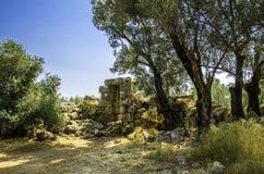 Sedir island. (Turkish: Sedir Adası)  (ancient city of Kedriai), also known as Cleopatra Island, is a small island in the Gulf of Gökova of southwestern Royalty Free Stock Image
