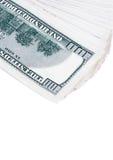 $100 sedlar Fotografering för Bildbyråer