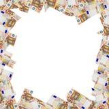 Sedlar av 50 euro Arkivfoton
