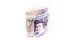 Sedlar för brittiskt pund Royaltyfri Bild