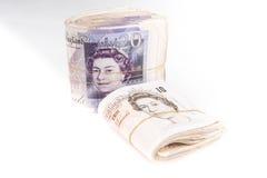 Sedlar för brittiskt pund royaltyfri fotografi