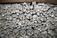 Sedlec藏有古代遗骨的洞穴是一个小天主教教堂, Kutna Hora在捷克 库存照片