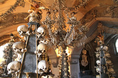 Sedlec Ossuary Stock Photo
