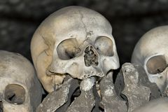 Sedlec Ossuary - Charnel house Stock Photo