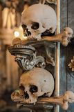 Sedlec Ossuary in the Czech Republic Royalty Free Stock Images