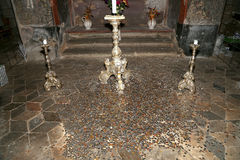 Sedlec Ossuary is a small Roman Catholic chapel, Kutna Hora in the Czech Republic Royalty Free Stock Image