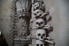 The Sedlec Ossuary Royalty Free Stock Image
