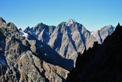 Sedlo de Priecne, Tatras alto, Eslováquia Fotografia de Stock