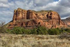Sedona亚利桑那红色岩石 库存照片