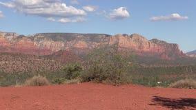 Sedona亚利桑那风景放大 免版税库存图片