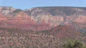 Sedona亚利桑那风景横向 免版税图库摄影