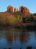 Sedona. Catherdal Rock in Sedona Arizona Stock Photography