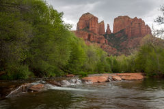 Sedona And Oak Creek Canyon Landscapes In Spring Stock Photos