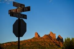 Sedona, Arizona Stockbild