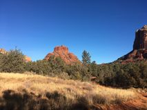 Sedona Arizona Bell Rock Trail. Picture of Red Rocks In the Village OF Oak Creek Hike Stock Image