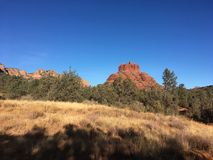 Sedona Arizona Bell Rock Trail. Picture of Red Rocks In the Village OF Oak Creek Hike Royalty Free Stock Images