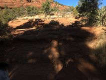 Sedona Arizona Bell Rock Trail. Picture of Red Rocks In the Village OF Oak Creek Hike Royalty Free Stock Image