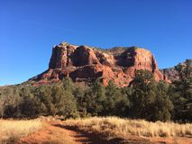 Sedona Arizona Bell Rock Trail. Picture of Red Rocks In the Village OF Oak Creek Hike Stock Images