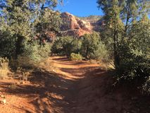 Sedona Arizona Bell Rock Trail. Picture of Red Rocks In the Village OF Oak Creek Hike Stock Photos