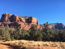 Sedona Arizona Bell Rock Trail. Picture of Red Rocks In the Village OF Oak Creek Hike Stock Photo