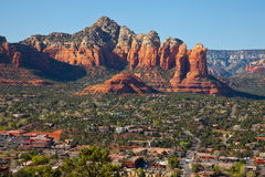Sedona, Arizona bij Zonsopgang Royalty-vrije Stock Foto