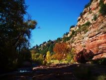 Sedona Arizona in de herfst 4 stock foto