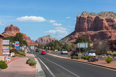 Sedona, Arizona, de V.S. Stock Foto's
