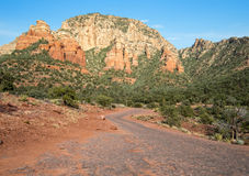 Sedona, Arizona desert hiking trail Stock Photography