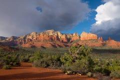 Sedona Arizona escénico pasa por alto Fotos de archivo