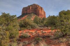 Free Sedona, Arizona Has Beautiful Orange Rocks And Pillars In The Desert Royalty Free Stock Image - 115529966
