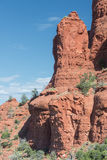 Sedona Arizona Red Rock Formation Royalty Free Stock Photos