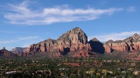 Sedona Arizona Red Rocks and Clouds Timelapse