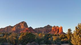 Sedona, Arizona rewolucjonistki skały Zdjęcia Royalty Free