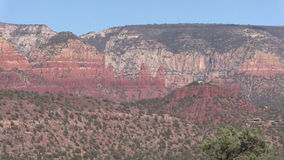 Sedona Arizona Scenic Landscape Zoom In Stock Photography