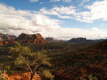 Sedona, Arizona Sky Scape Royalty Free Stock Photo