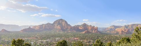 Sedona Arizona in Southwest USA. Beautiful Daytime Scenery of Sedona, Arizona royalty free stock photo