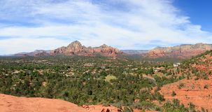 Sedona Arizona in Southwest USA. Beautiful Daytime Scenery of Sedona, Arizona stock image