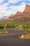 Sedona Arizona in Southwest USA Stock Photo