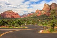 Sedona Arizona in Southwest USA Royalty Free Stock Images