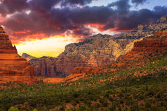 Sedona Arizona Sunrise Royalty Free Stock Photography