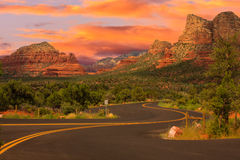 Sedona Arizona Sunrise Royalty Free Stock Images