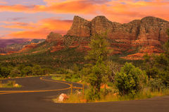 Sedona Arizona Sunrise Stock Image