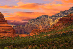 Sedona Arizona Sunrise Royalty Free Stock Image