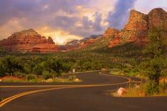 Sedona Arizona Sunrise Royalty Free Stock Image