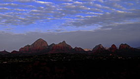Sedona Arizona Sunrise Time-lapse Stock Photos