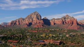 Sedona Arizona with Thunder Mountain Slow Zoom Out