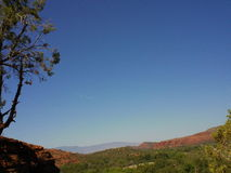 Sedona Arizona Top Of Long Canyon Trail Royalty Free Stock Photos